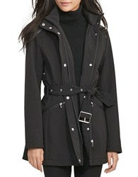 Lauren Ralph Lauren Hooded Soft Shell Jacket Black