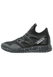 Reebok Lm Hayasu Sports Shoes Black White Atomic Red