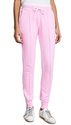 Cotton Citizen The Milan Joggers With Ankle Zippers Light Pink