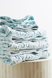 Anthropologie Damask Towel Collection Turquoise