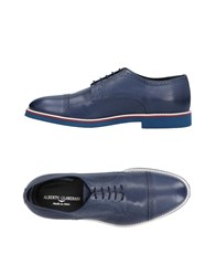 Alberto Guardiani Lace Up Shoes Blue