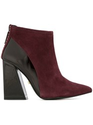 Kat Maconie Margo Ankle Boots Red