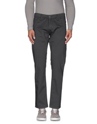 Takeshy Kurosawa Trousers Casual Trousers Men Steel Grey
