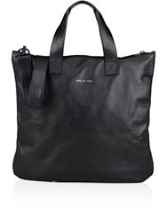 Common Projects Men's Top Zip Tote Black