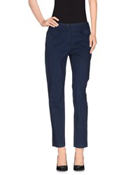Harmontandblaine Trousers Casual Trousers Women Dark Blue