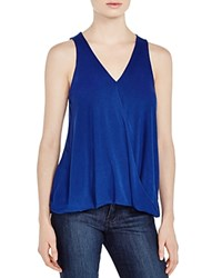Zoa Knit V Neck Tank Compare At 59 Blueberry