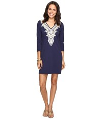 Lilly Pulitzer Clarkson Dress True Navy Women's Dress