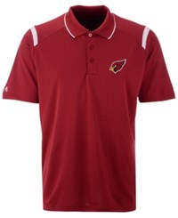 Antigua Arizona Cardinals Merit Polo Red White