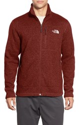 The North Face Men's 'Gordon Lyons' Zip Fleece Jacket Brick House Red Heather