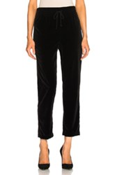Mother Lounger Ankle Sweatpant In Black