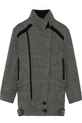 Iro Bailey Twill Coat Black