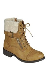 Refresh Dason Lace Up Boot Brown