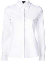 Theory Poplin Shirt White