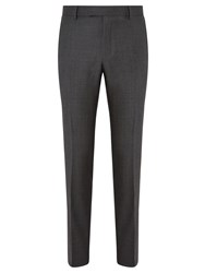 Richard James Mayfair Pick And Pick Suit Trousers Charcoal