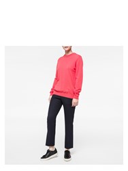 Paul Smith Women's Coral Cashmere Sweater Pink