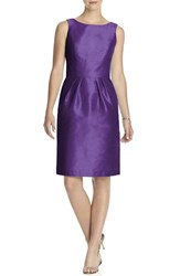 Women's Alfred Sung Boatneck Sheath Dress Majestic