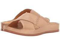 Kork Ease Amboy Natural Full Grain Women's Dress Sandals Tan