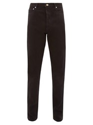 Paul Smith Contrast Stitching Slim Leg Jeans Black