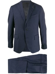 Gabriele Pasini Pinstriped Three Piece Suit 60