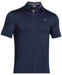 Under Armour Men's Playoff Performance Solid Golf Polo Academy Blue