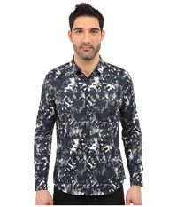 7 Diamonds Tempest Long Sleeve Shirt Blue Men's Long Sleeve Button Up