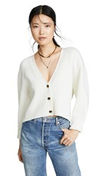 Baldwin Denim Sparrow Cardigan Ivory