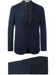 Boglioli Two Piece Suit Blue