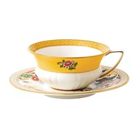 Wedgwood Wonderlust Teacup And Saucer Primrose