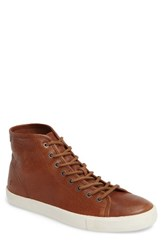 Frye Men's Brett High Top Sneaker Copper