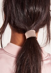 Missguided 2 Pack Metal Plate Hair Bobble Multi Grey