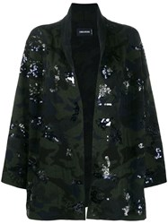Zadig And Voltaire Maya Sequin Embroidered Cardi Coat 60