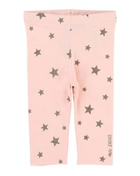 Little Marc Jacobs Allover Star Print Stretch Leggings Size 2 3 Pink
