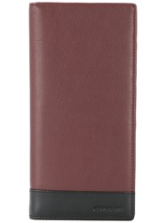 Cerruti 1881 Two Tone Long Wallet Brown