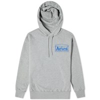 Aries Zine Hoody Grey