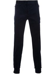 Balmain Straight Fit Trousers Blue