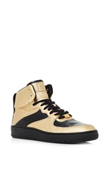 Red Valentino High Top Gold Sneaker