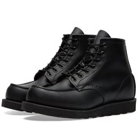 Red Wing Shoes 8137 Heritage Work 6 Moc Toe Boot Black