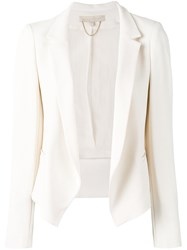 Vanessa Bruno Fitted Blazer White