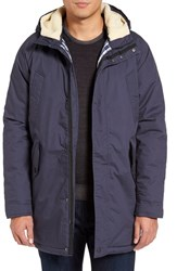 Slate And Stone Men's Lawrence Parka With Faux Shearling Lining