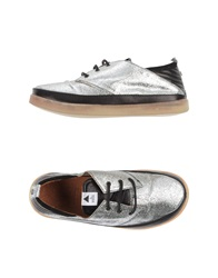 Volta Low Tops And Trainers Silver