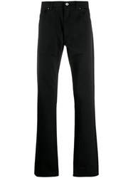 Salvatore Ferragamo Five Pocket Trousers Black
