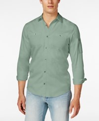 Inc International Concepts Men's Claudius Long Sleeve Shirt Only At Macy's Oregano