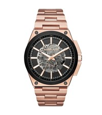 Michael Kors Wilder Automatic Rose Gold Tone Watch