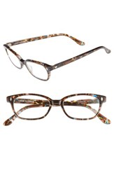 Corinne Mccormack 'Cyd' 50Mm Reading Glasses Transparent Brown Marble