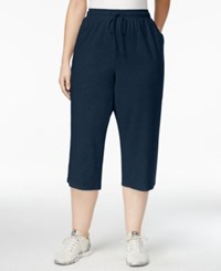 Karen Scott Plus Size Active Capri Length Sweatpants Only At Macy's