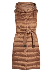 Max Mara Reversible Gilet Brown