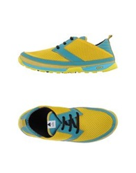 Volta Low Tops And Trainers Yellow