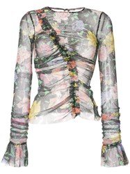 Alice Mccall Cosmic Dancer Floral Print Top 60