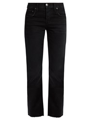 Current Elliott The Crossover Boyfriend Jeans Black