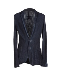 Wlg By Giorgio Brato Suits And Jackets Blazers Men Dark Blue